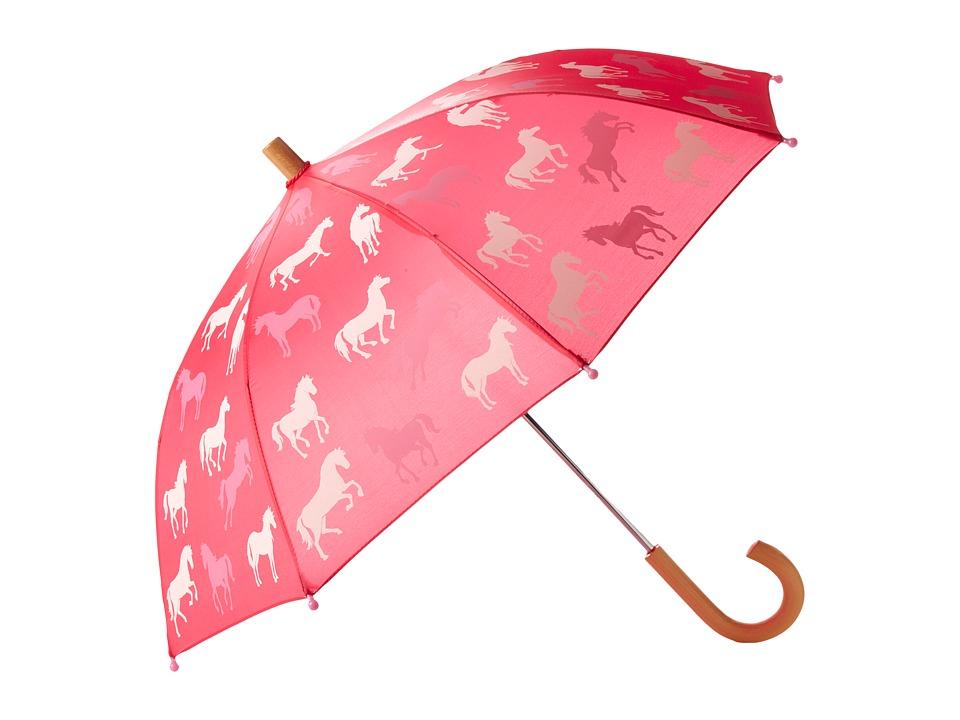 Hatley Kids - Classic Horses Umbrella (Pink) Umbrella
