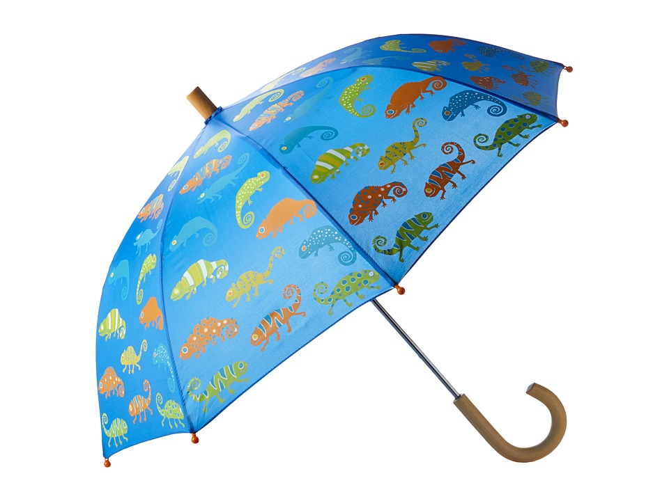 Hatley Kids - Crazy Chameleons Umbrella (Blue) Umbrella