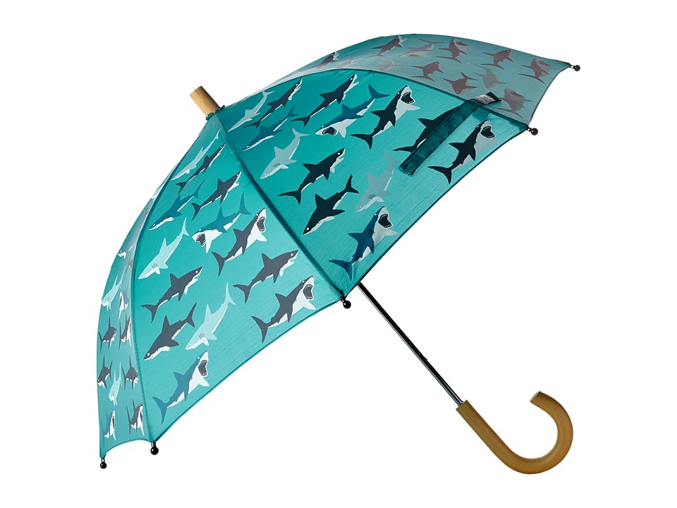 Hatley Kids - Great White Sharks Umbrella (Blue) Umbrella
