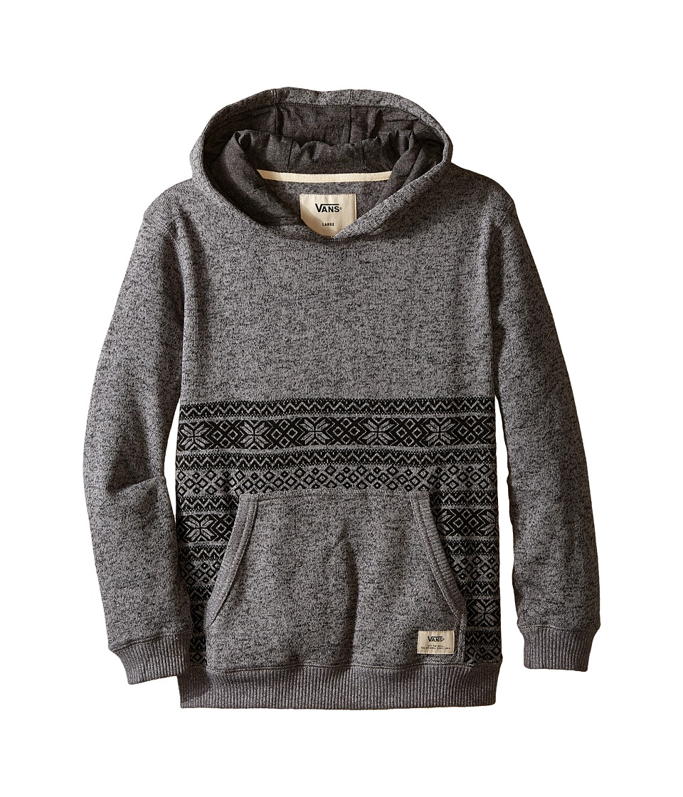 Vans Kids - Harpster (Big Kids) (Heather Grey) Boy's Sweatshirt
