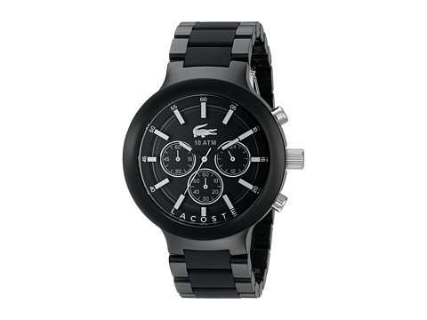 Lacoste - 2010770-Borneo Chrono (Black) Chronograph Watches