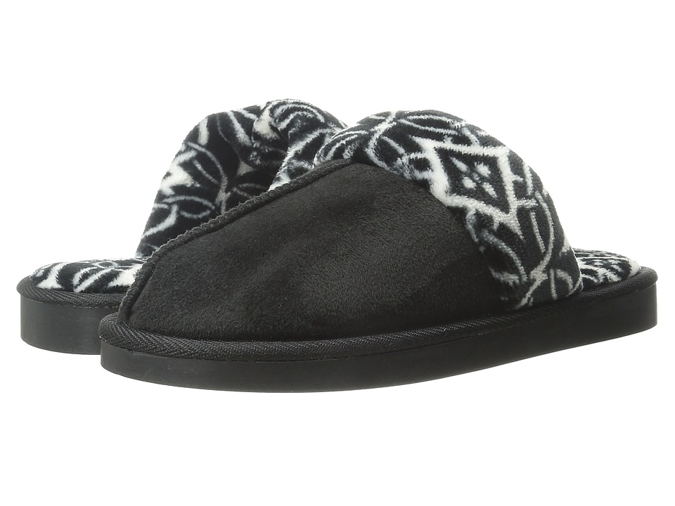 Vera Bradley - Cozy Slippers (Black) Women's Slippers