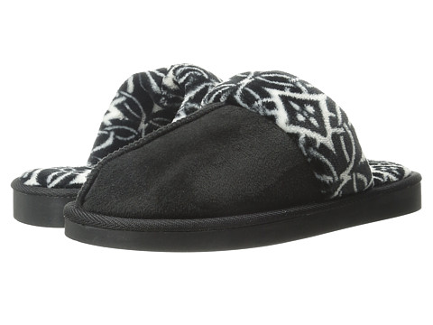 Vera Bradley - Cozy Slippers (Black) Women's Slippers