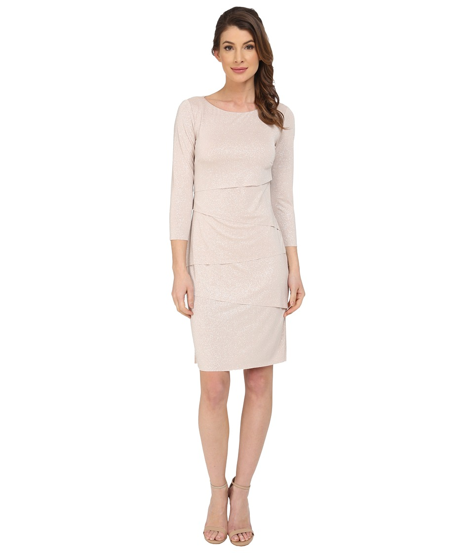 Tahari by ASL - Winnie - Q Dress (Champagne) Women's Dress