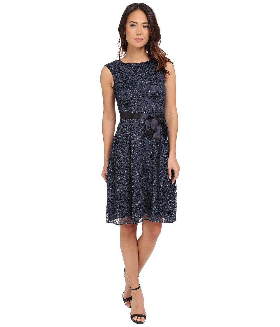 Tahari by ASL - Linda - B Dress (Navy) Women's Dress