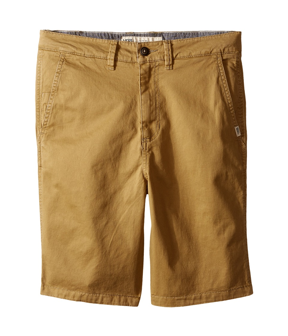 Vans Kids - Bedford (Little Kids/Big Kids) (Antique Bronze) Boy's Shorts