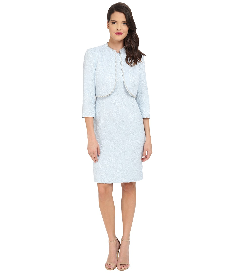 Tahari by ASL - Whitney - P Dress (Sky Blue) Women's Dress