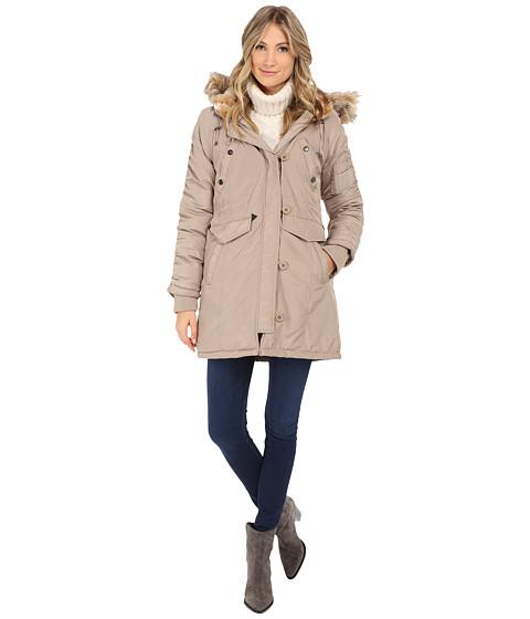 Steve Madden - Snorkel Coat (Stone) Women's Coat