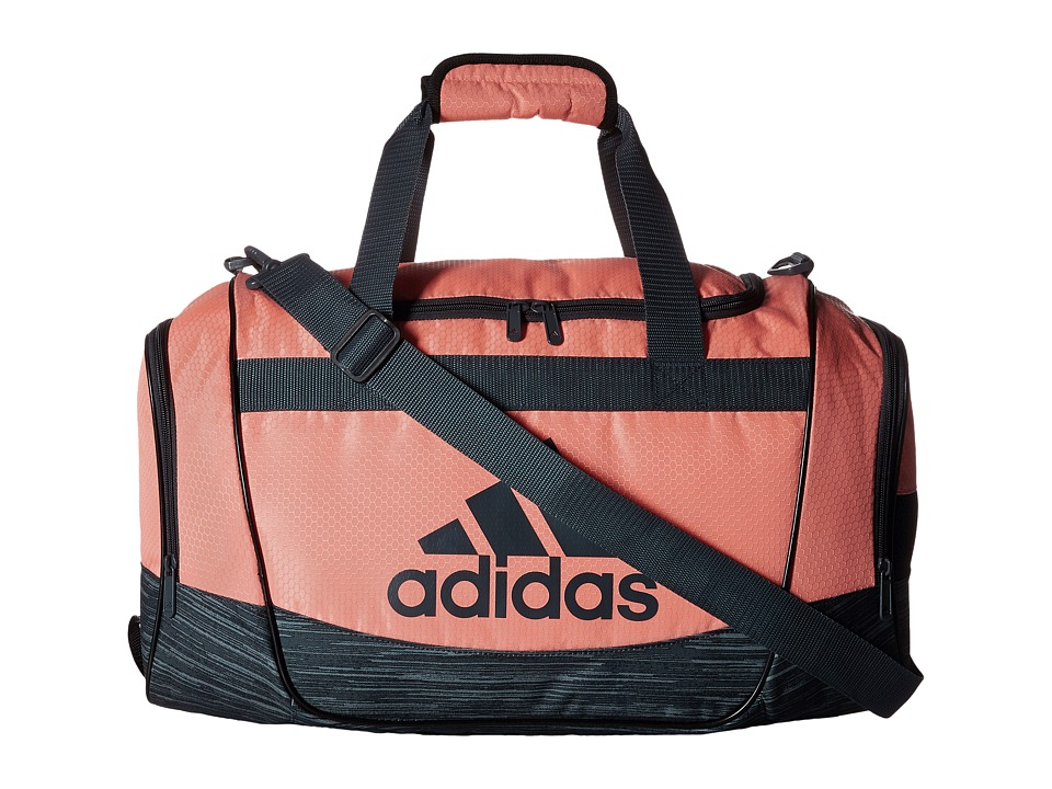 adidas - Defender II Small Duffel (Sun Glow/Space Dye Deepest Space) Duffel Bags