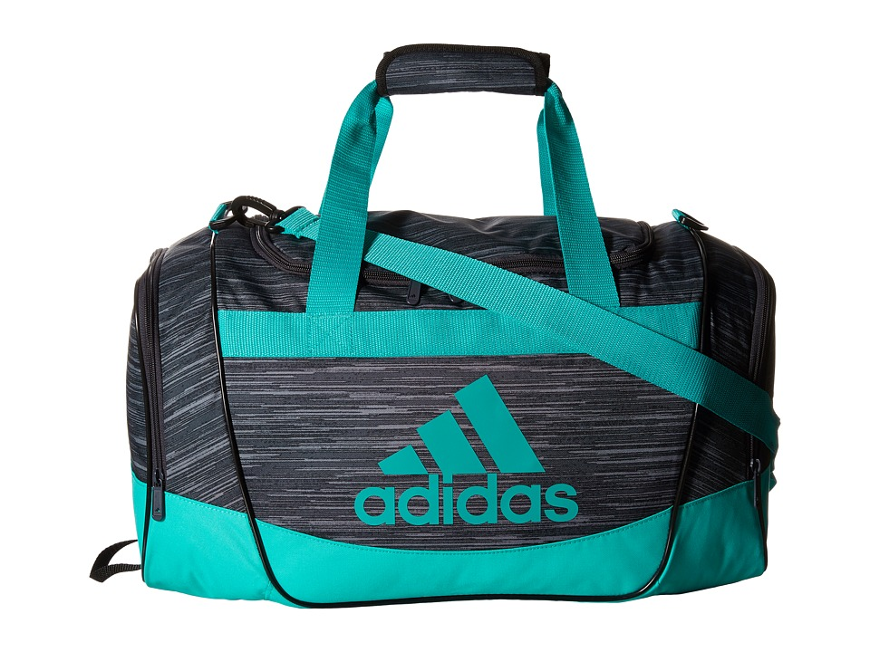 adidas - Defender II Small Duffel (Deepest Space Space Dye/Shock Mint) Duffel Bags