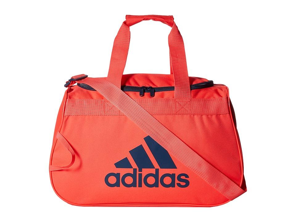 adidas - Diablo Small Duffel (Shock Red/Mineral) Duffel Bags