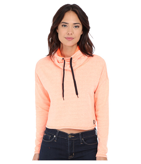 Hurley - Dri-Fit Fleece Crop Cowl (Heather Hyper Orange) Women