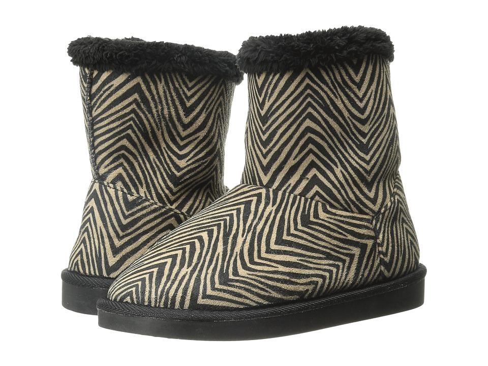 Vera Bradley Cozy Booties (Zebra) Women