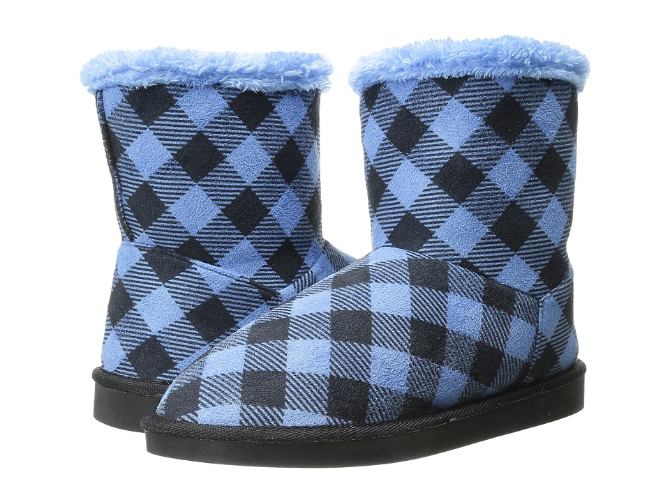 Vera Bradley Cozy Booties (Alpine Check) Women
