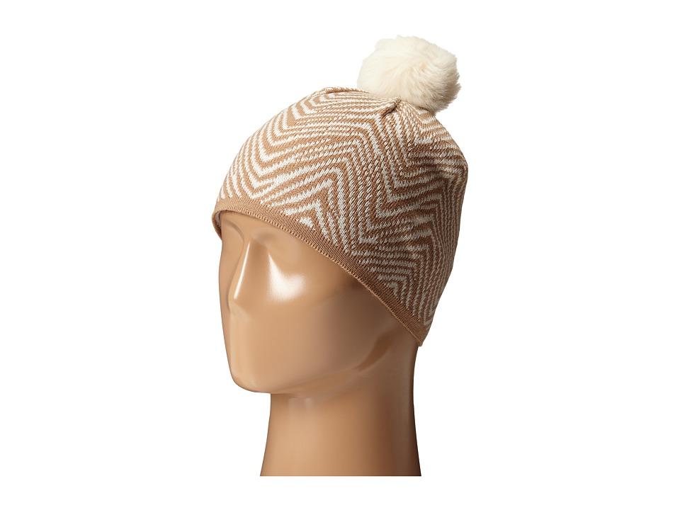 Vera Bradley - Cozy Knit Hat (Zebra Intarsia) Knit Hats