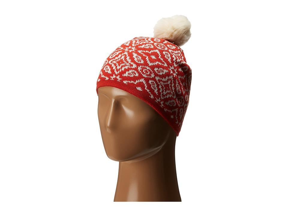 Vera Bradley - Cozy Knit Hat (Rosewood Intarsia) Knit Hats