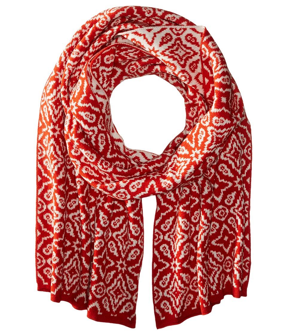 Vera Bradley - Cozy Knit Scarf (Rosewood Intarsia) Scarves