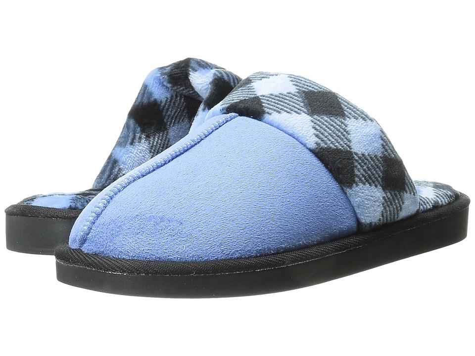 Vera Bradley - Cozy Slippers (Light Blue) Women