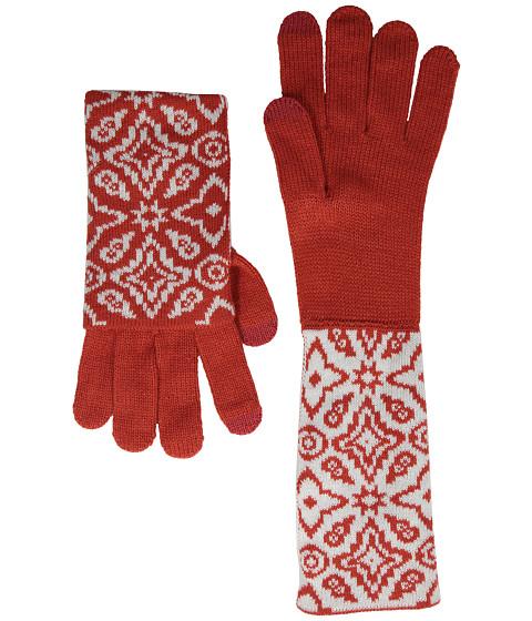 Vera Bradley - Cozy Tech Gloves (Rosewood Intarsia) Dress Gloves