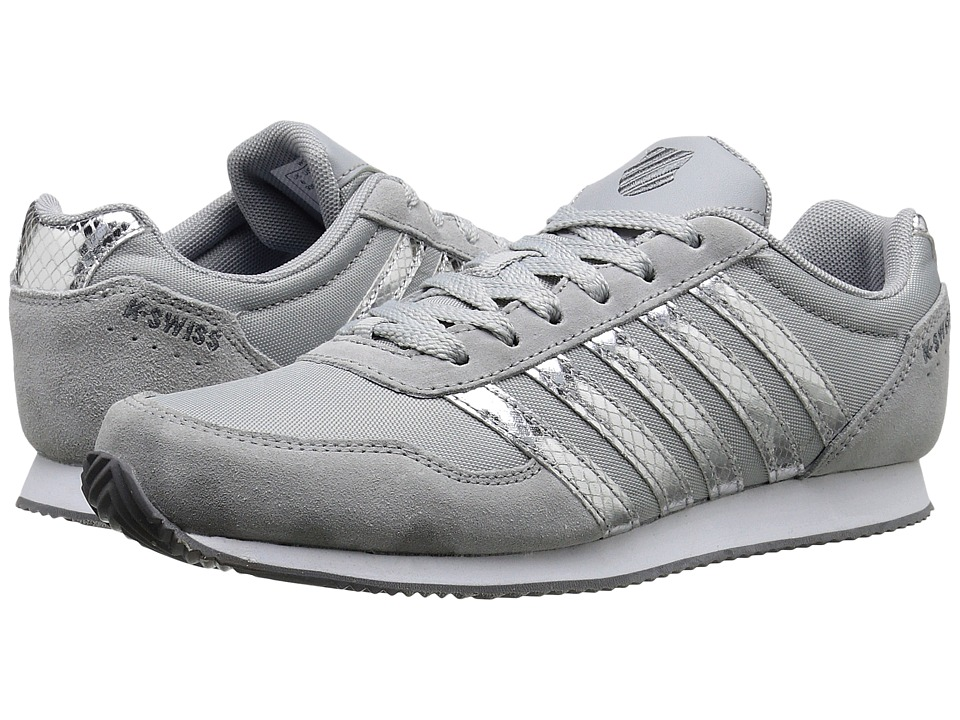 K-Swiss - New Haven CMF MS (High Rise/Charcoal) Women's Shoes