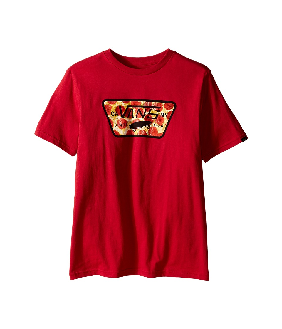 Vans Kids - Hot N Ready (Big Kids) (Cardinal) Boy's T Shirt