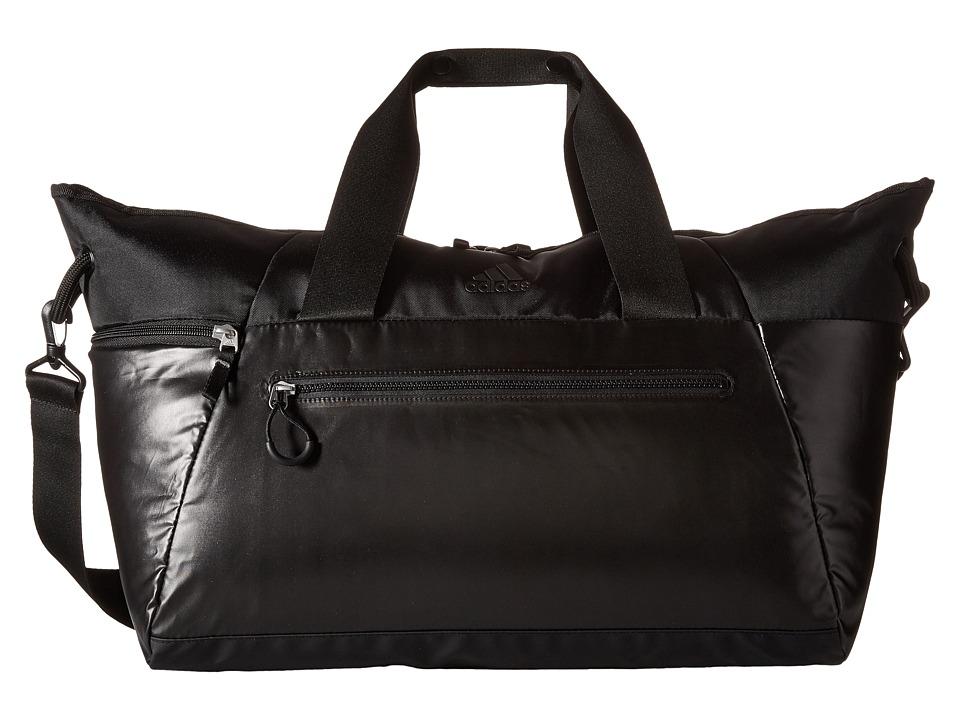 adidas - Studio Duffel (Black Metallic/Black) Duffel Bags