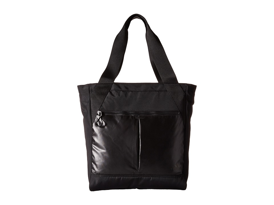 adidas - Fearless Tote (Black Metallic/Black) Tote Handbags