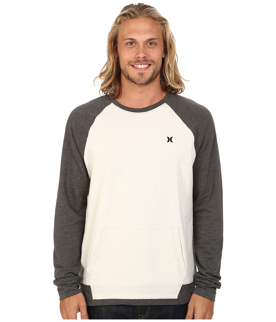 Hurley - 19th Street (Light Bone) Men's Sweatshirt