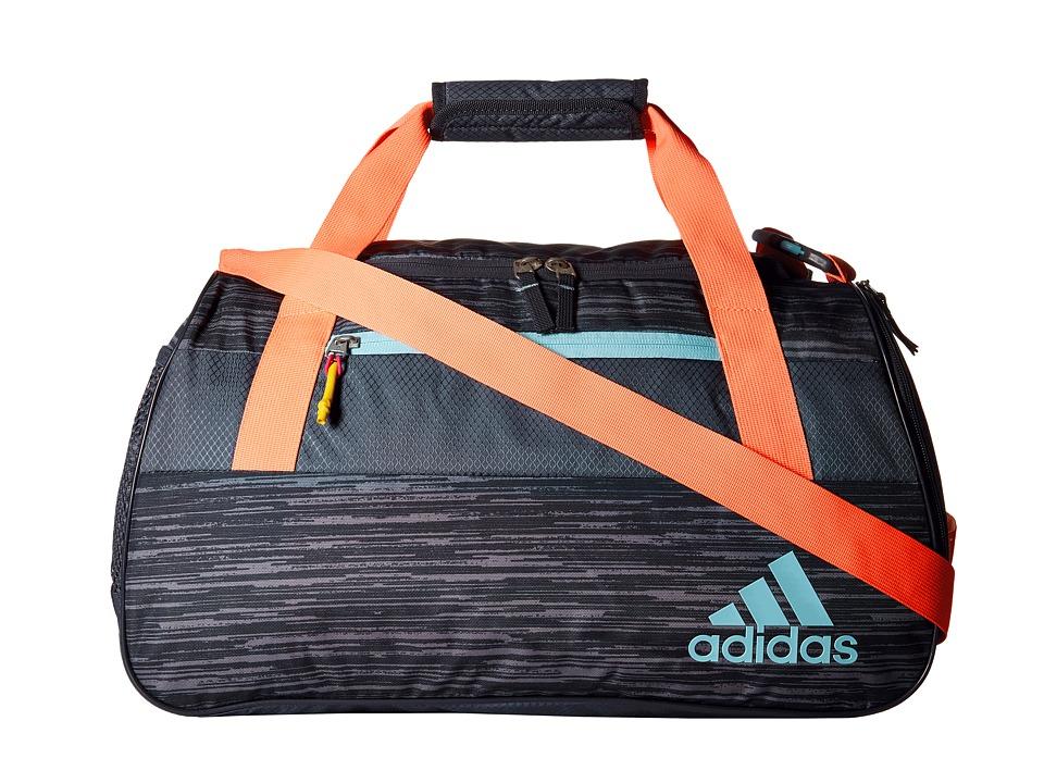 adidas - Squad III Duffel (Deepest Space Space Dye/Sun Glow/Blue Zest) Duffel Bags