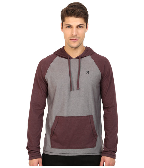 Hurley - Weekend Hoodie (Tumbled Grey) Men