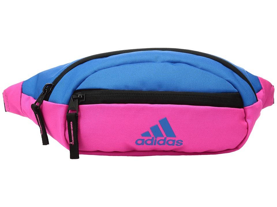 adidas - Rand II Waist Pack (Shock Pink/Shock Blue) Wallet
