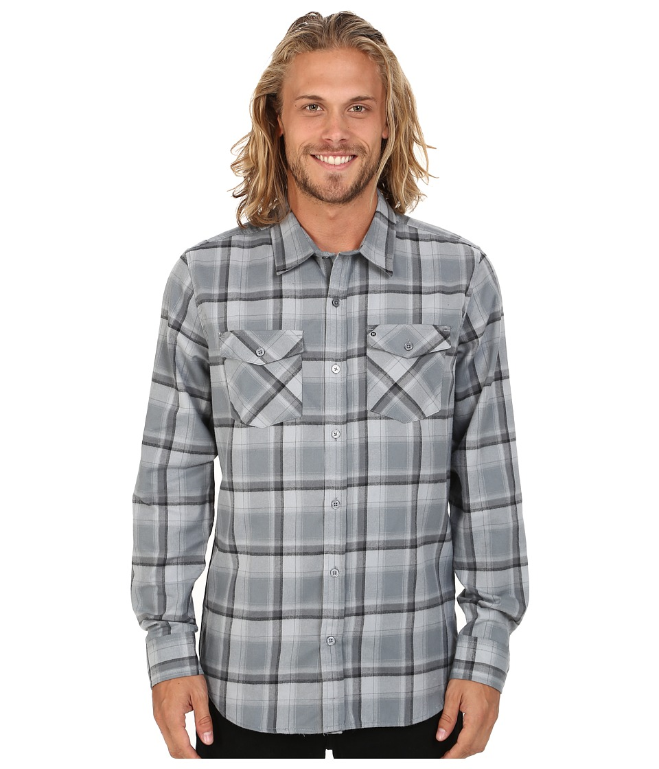 Hurley - Dri-Fit Bailey Long Sleeve Top (Cool Grey) Men