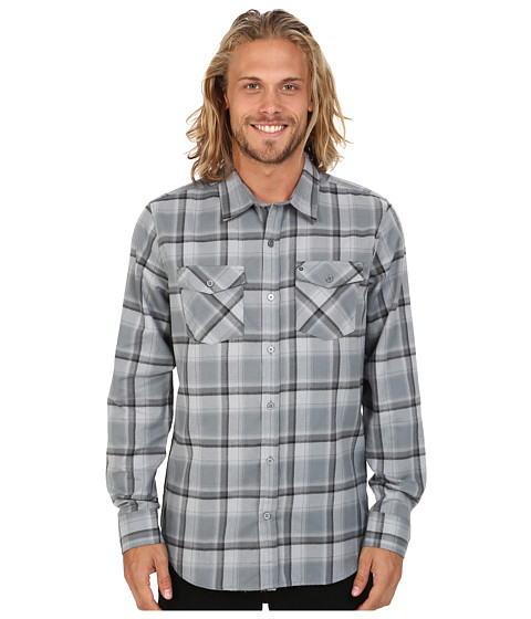 Hurley - Dri-Fit Bailey Long Sleeve Top (Cool Grey) Men
