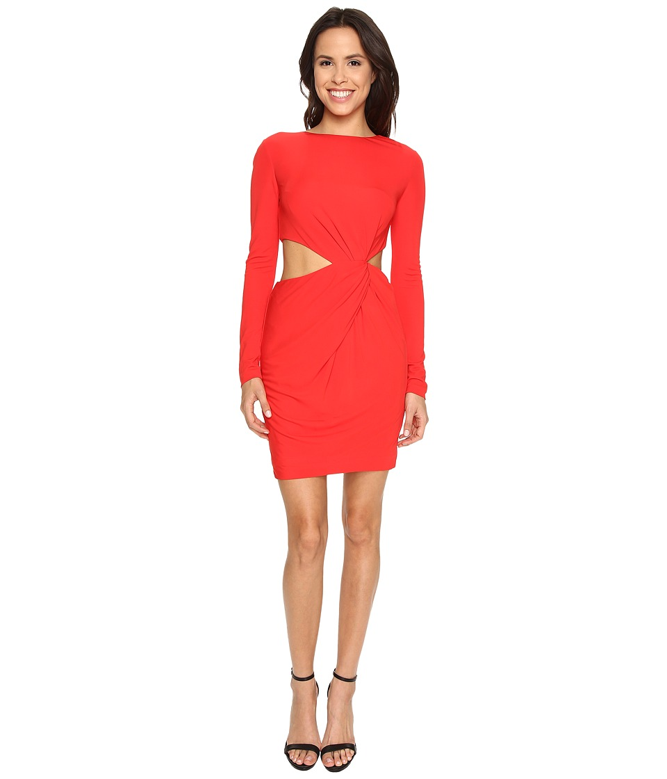 Rachel Zoe Shay Draped Mini Dress (Red) Women