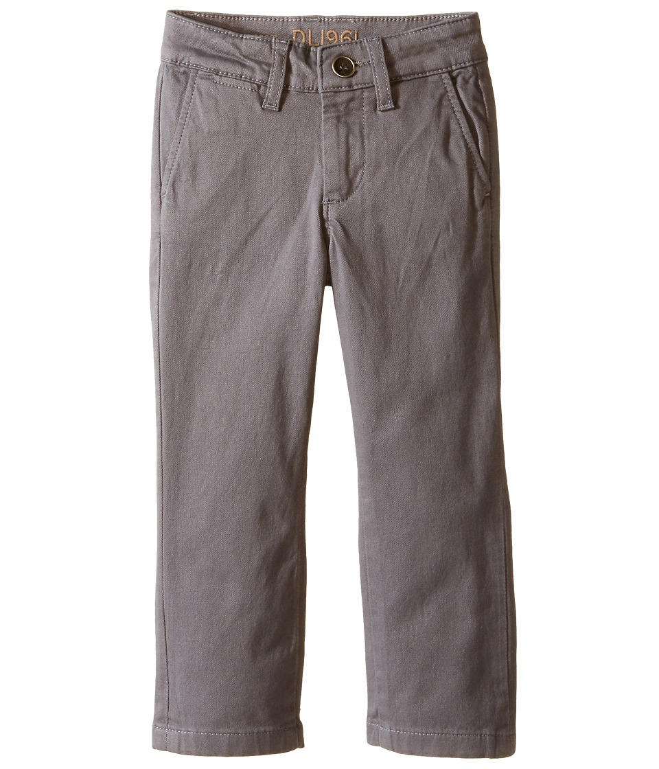 DL1961 Kids - Timmy Chino in Steele (Toddler/Little Kids/Big Kids) (Steele) Boy's Casual Pants