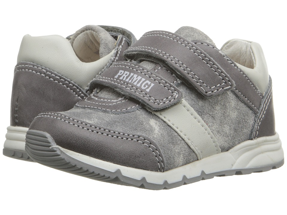 Primigi Kids - Ben (Toddler) (Grey) Boys Shoes