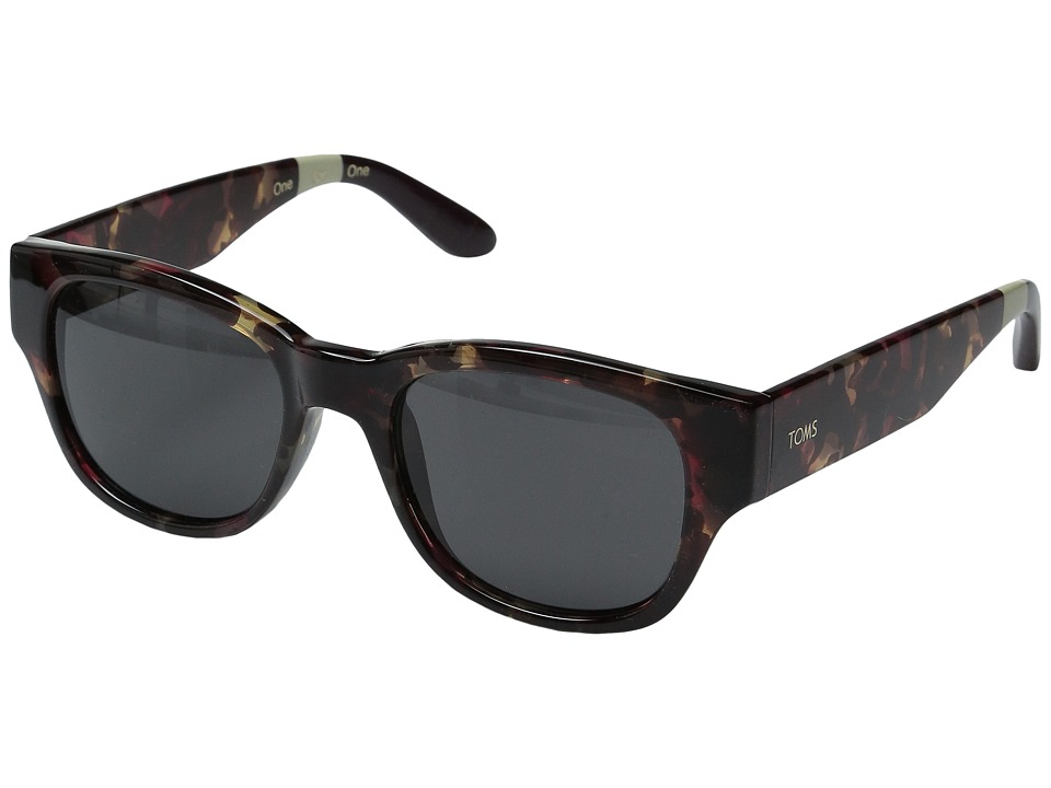 TOMS - Gigi (Pink Tortoise) Fashion Sunglasses