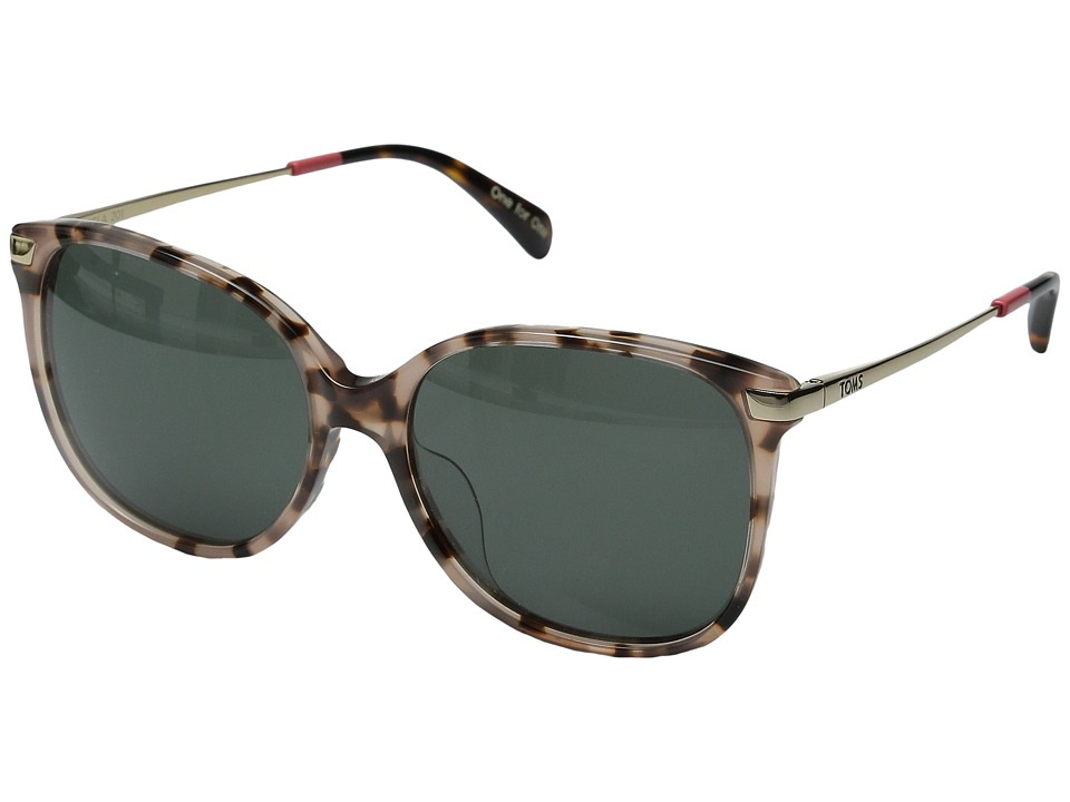 TOMS - Sandela 201 (Rose Tortoise) Fashion Sunglasses
