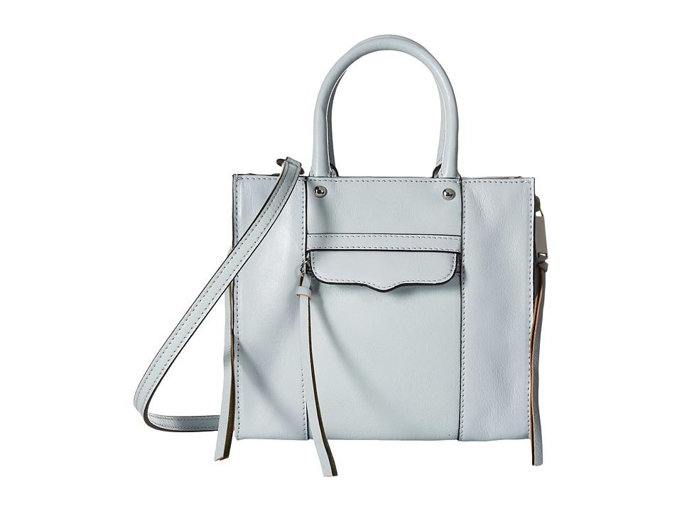 Rebecca Minkoff - Side Zip Mab Tote Mini (Bleached Blue) Tote Handbags