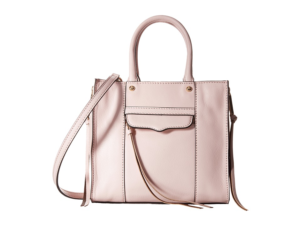 Rebecca Minkoff - Side Zip Mab Tote Mini (Baby Pink) Tote Handbags