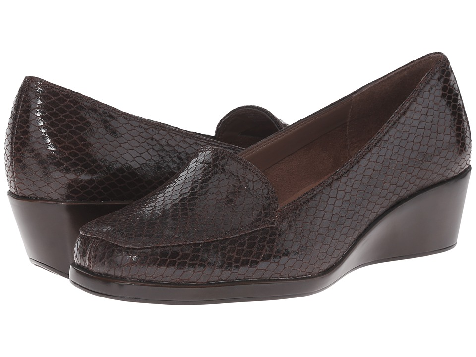 Aerosoles - Final Exam (Brown Exotic) Women's Wedge Shoes