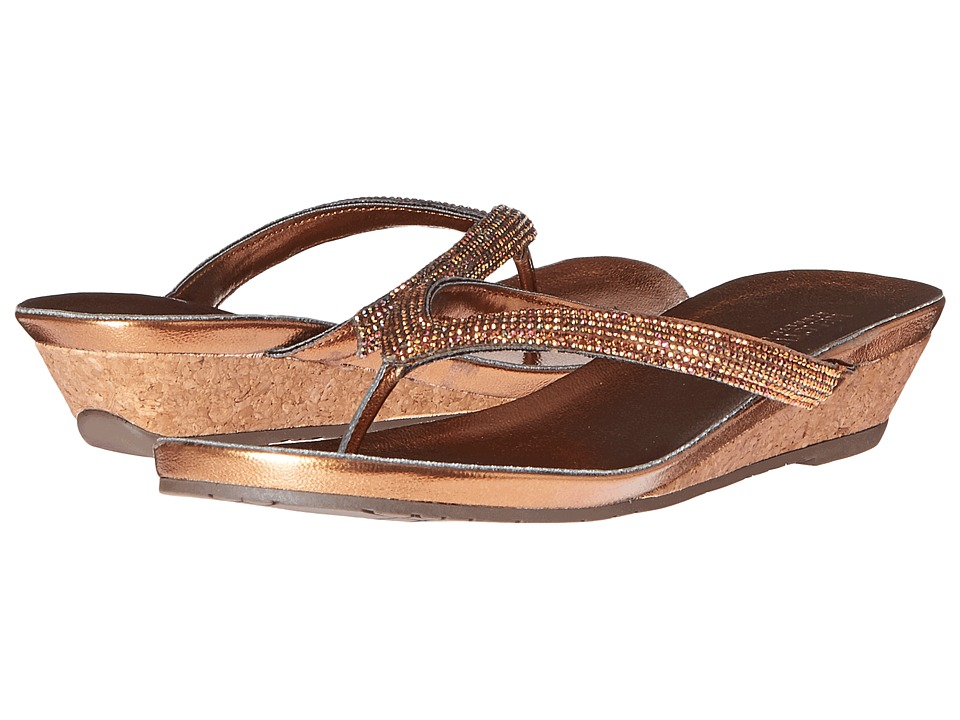 Kenneth Cole Reaction - Great Time (Bronze) Women's Sandals