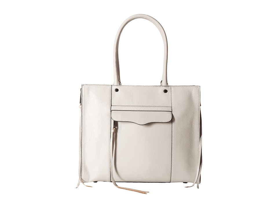 Rebecca Minkoff - Side Zip Medium Mab Tote (Putty) Tote Handbags