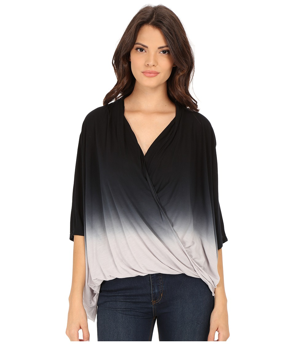 Young Fabulous & Broke - Zayna Top (Black/Grey Ombre) Women's Clothing