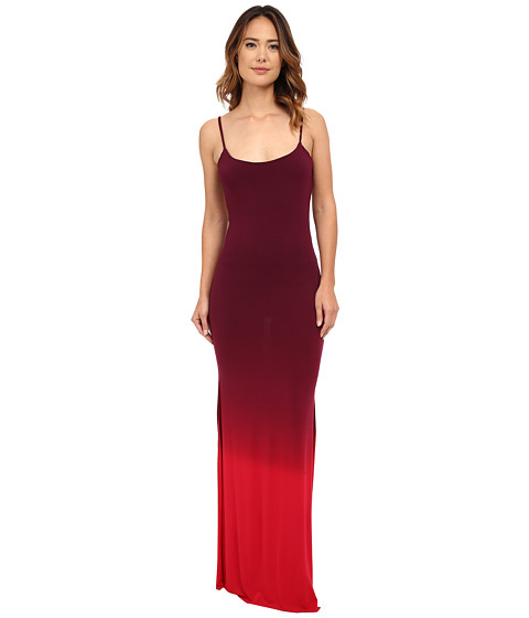 Young Fabulous & Broke - Faron Maxi (Crimson Ombre) Women's Clothing