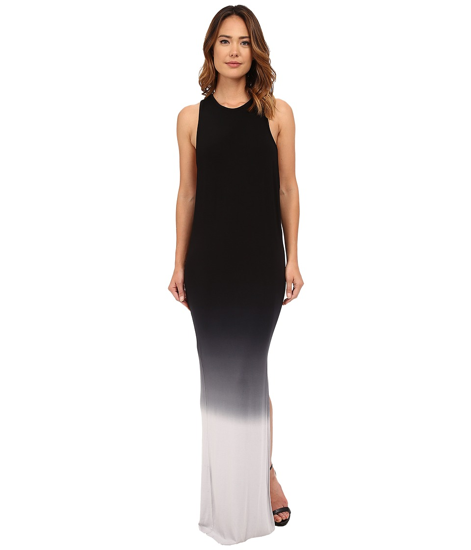 Young Fabulous & Broke - Samantha Maxi (Black/Grey Ombre) Women's Clothing