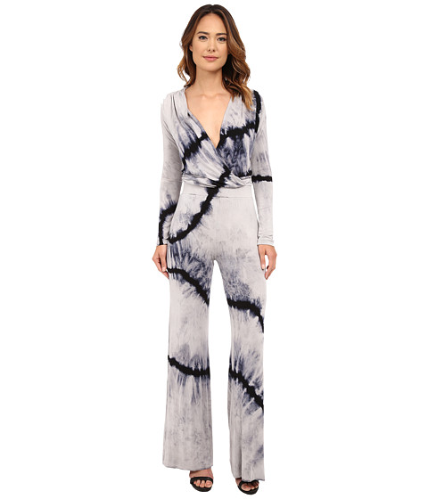 Young Fabulous & Broke - Howell Jumper in Black Wavy Stripe (Black Wavy Stripe) Women's Jumpsuit & Rompers One Piece