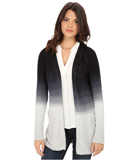 Young Fabulous & Broke - Tia Cardigan (Black/Grey Ombre) Women's Sweater