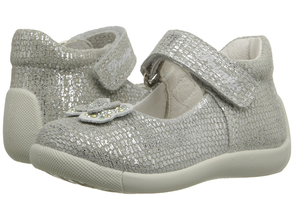 Primigi Kids - Naty (Infant/Toddler) (Silver) Girls Shoes
