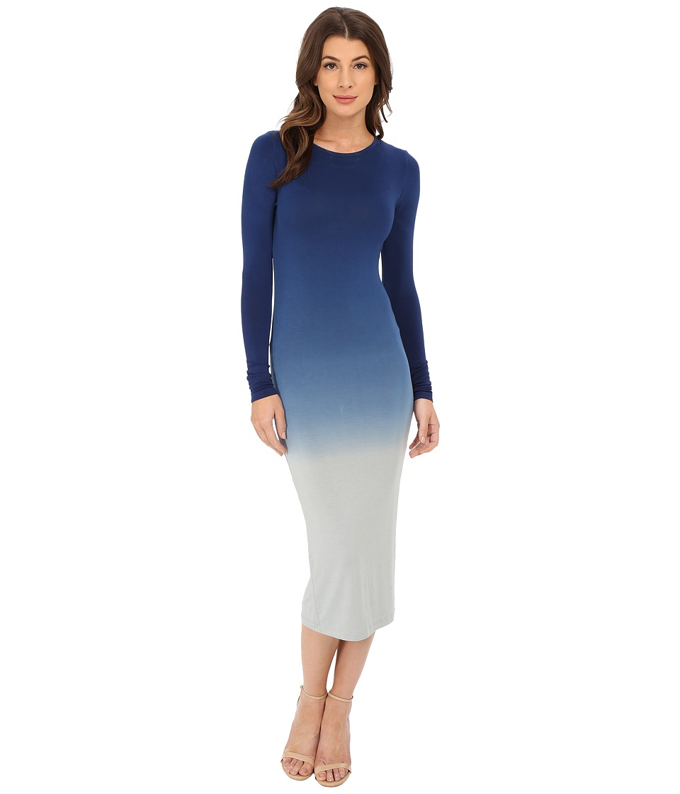 Young Fabulous & Broke - Lulu Dress (Blue Ombre) Women's Dress